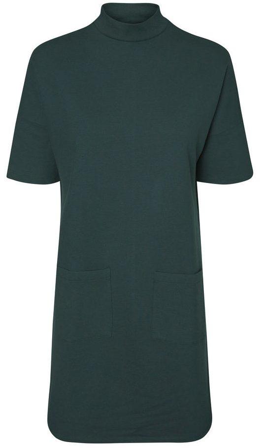 grøn kjole, 70'er, retro, vero moda, must have, efterår