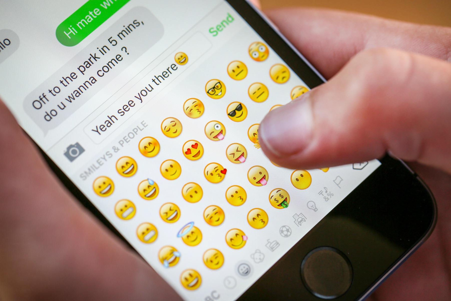 smiley, emoji, sms, besked