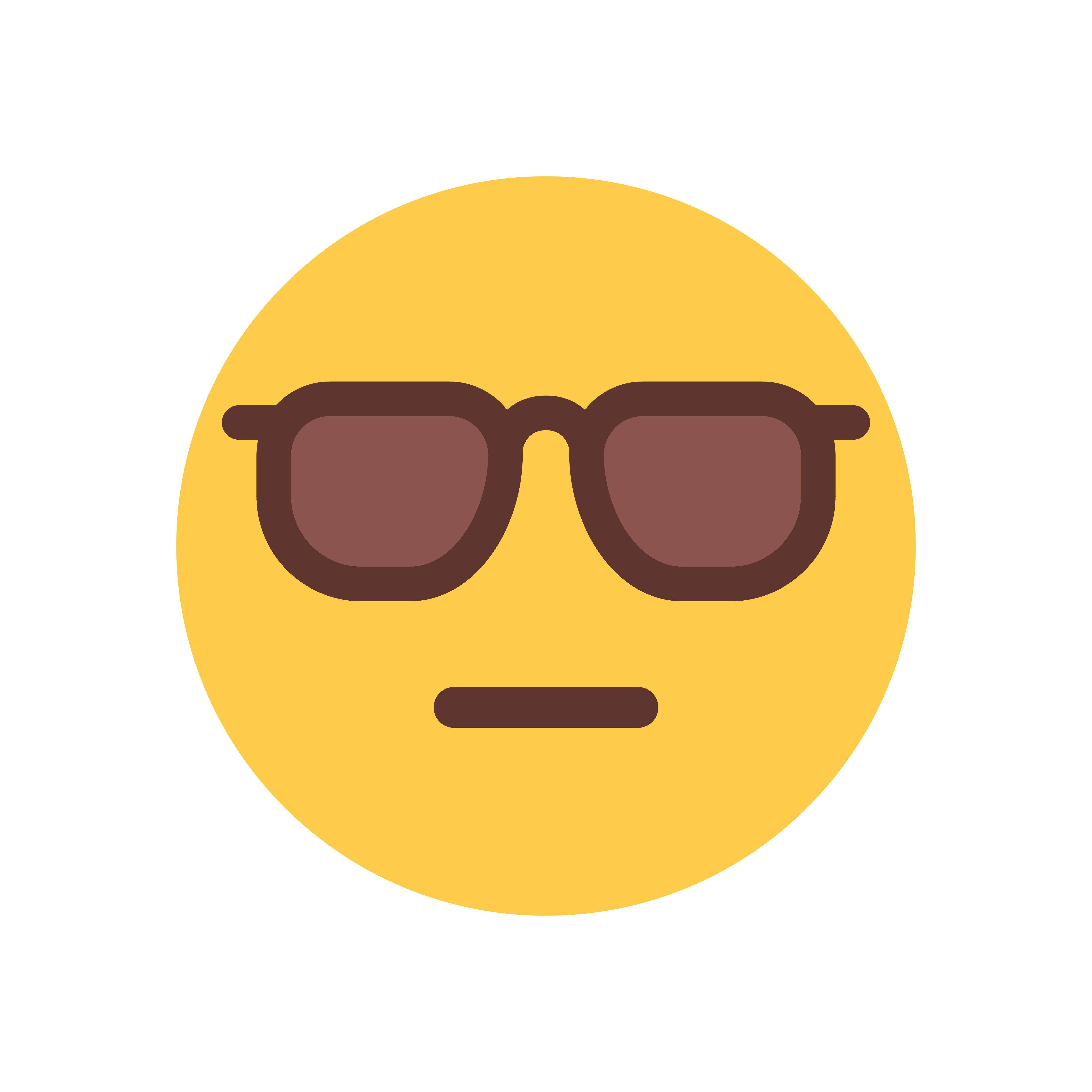 solbrille, emoji, smiley, smojis