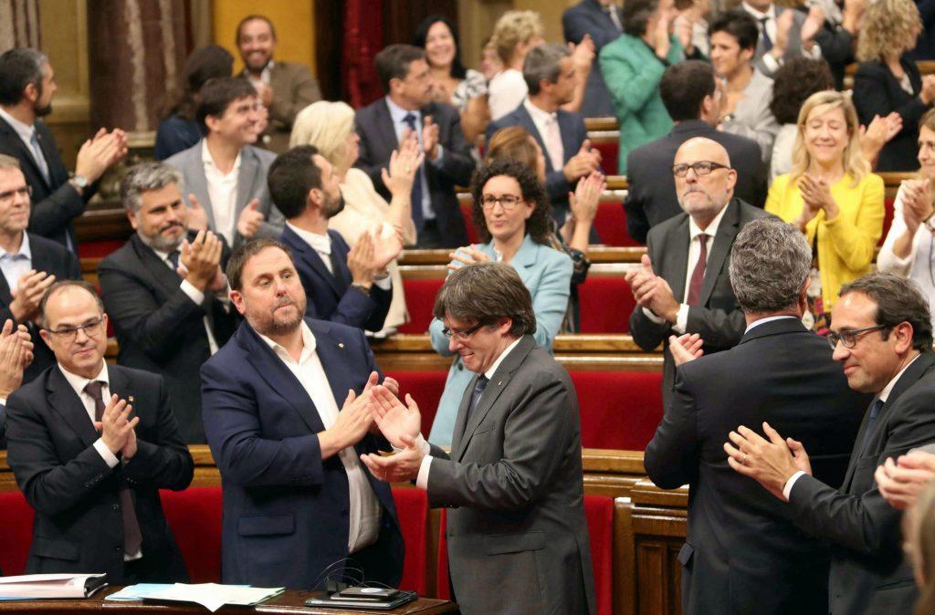 catalonien, selvstændighed, barcelona, afstemning, folkeafstemning, løsrivelse, politik, udland, spanien, madrid,