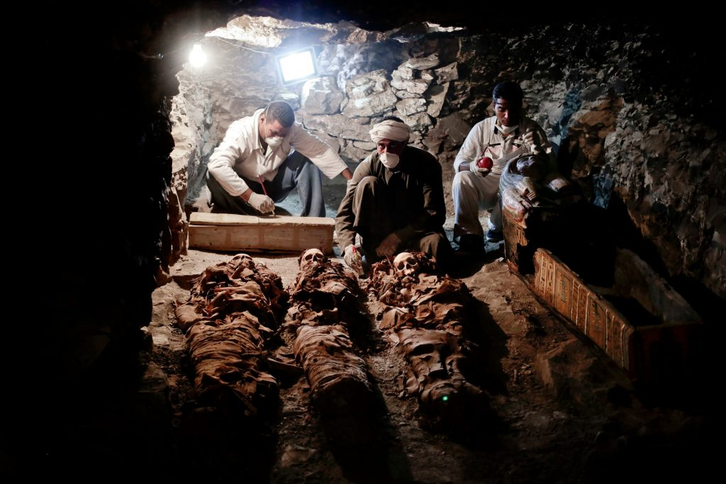 egypten, luxor, arkæologi, arkæolog, dagens billede, guldsmed, farao, grav,