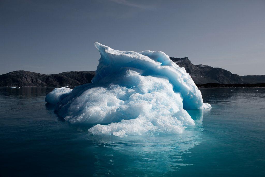 grønland, is, indlandsis, klima, klimaforandringer, drivhusgasser, smelte, tø, vandstigning, havvandsstigning