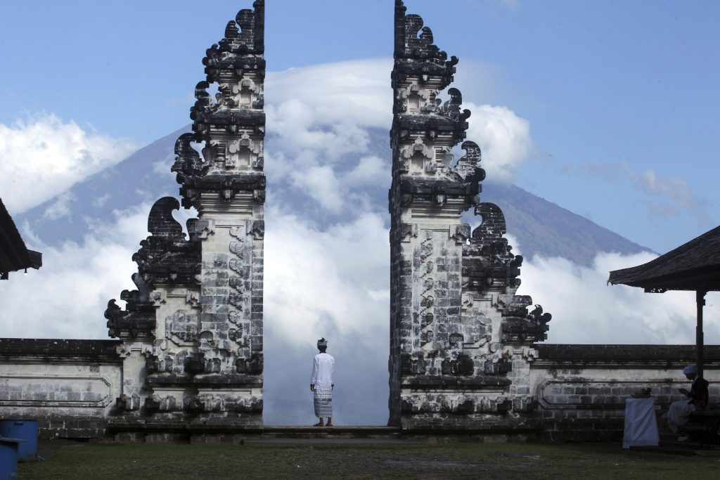 bali, vulkan, udbrud, dagens billede, mount agung, rystelser, lava, udbrud, luftfart