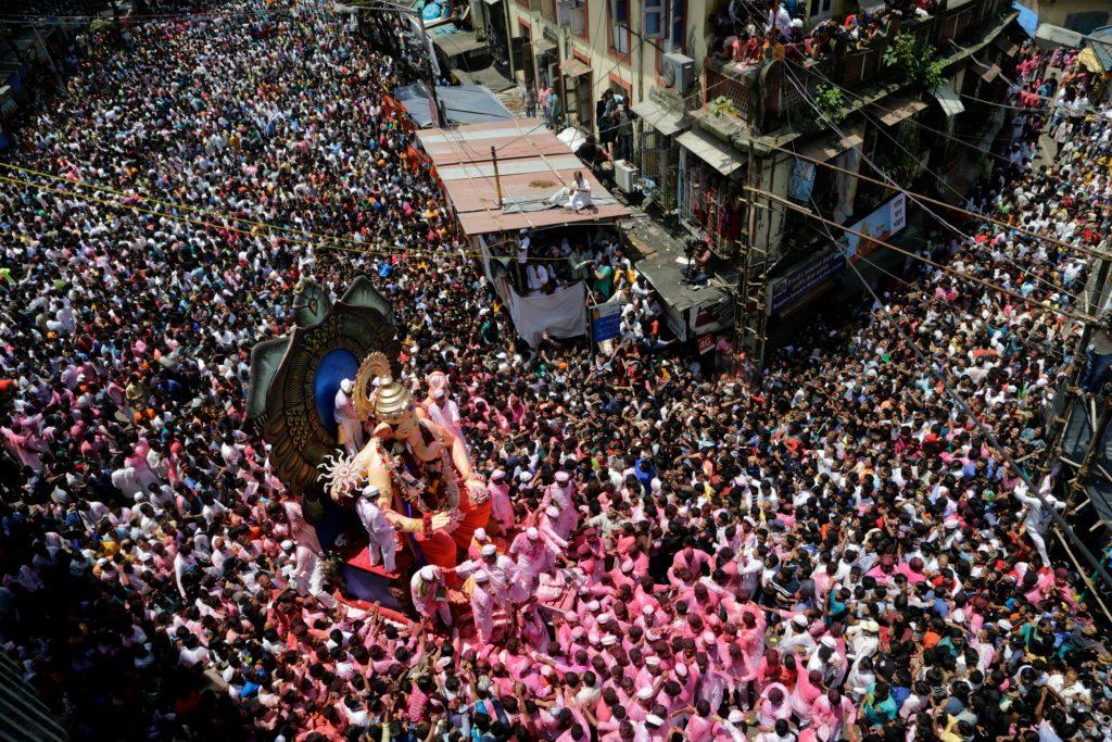 hundi, ganesha, festival, indien, hindu, mumbai, fest, tilbedelse