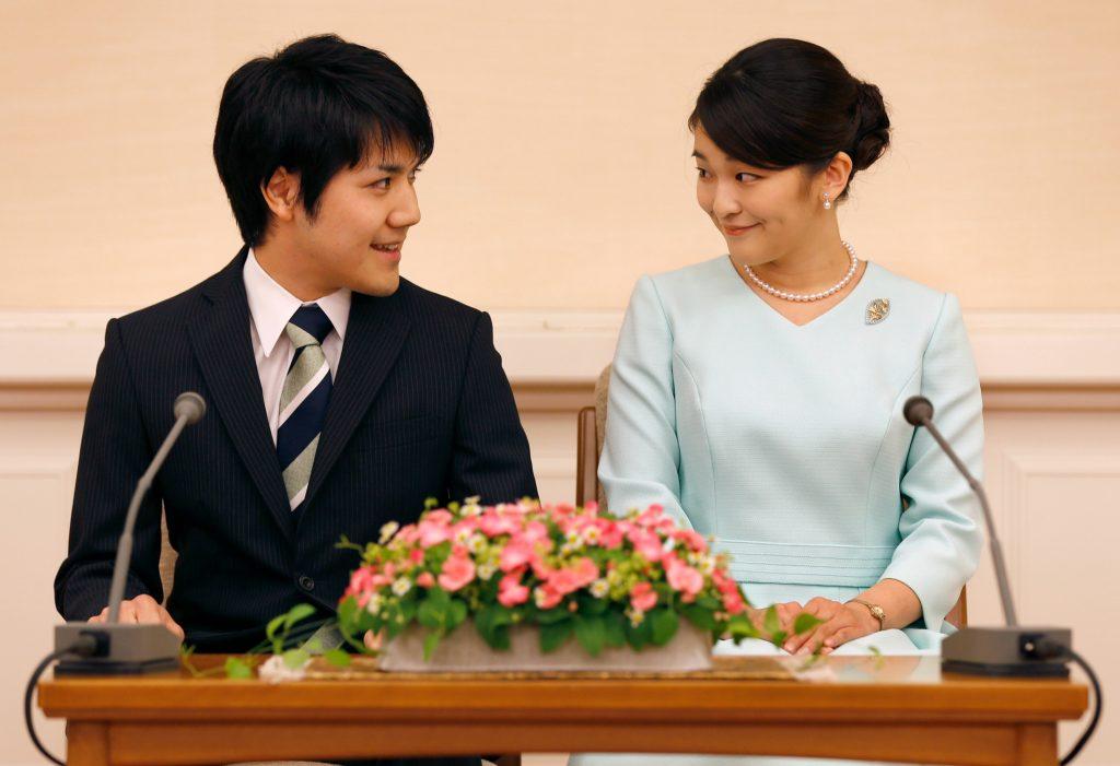mako, japan, Kei Komuro, forlovelse, royal, prinsesse, kongelig, abdicerer, tronfølge