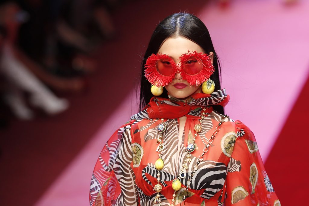 mode, catwalk, dolce and gabbana, model, mode, fashion, sommer, forår