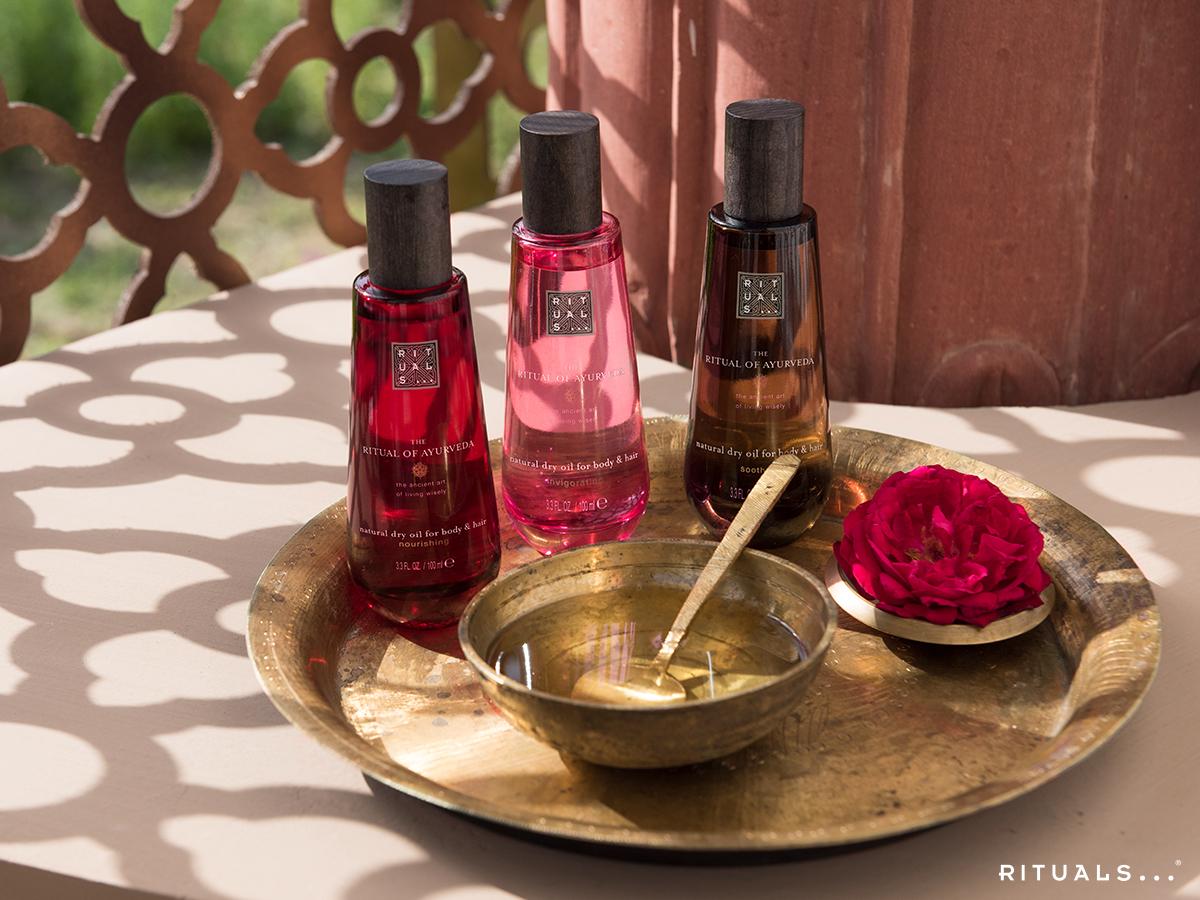 Ayurveda oils rituals olier