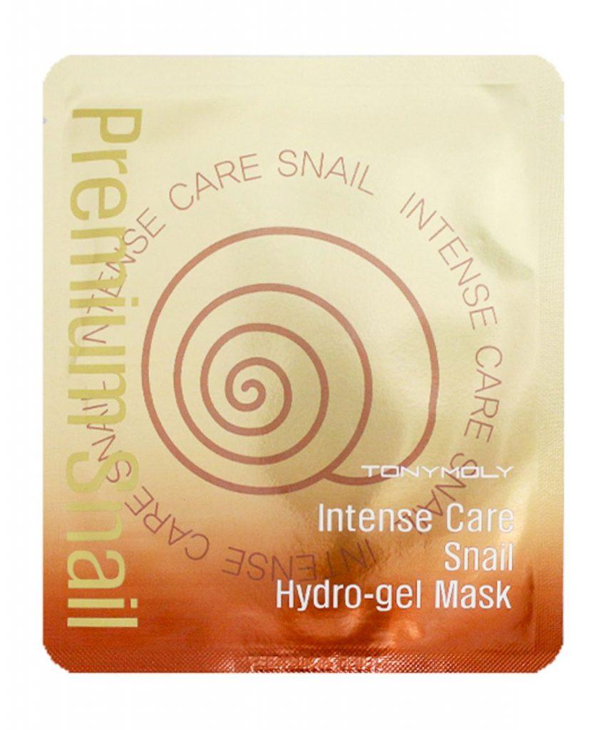 TONYMOLY Intense Care Snail Hydro-Gel Mask snegleslim maske ansigtsmaske