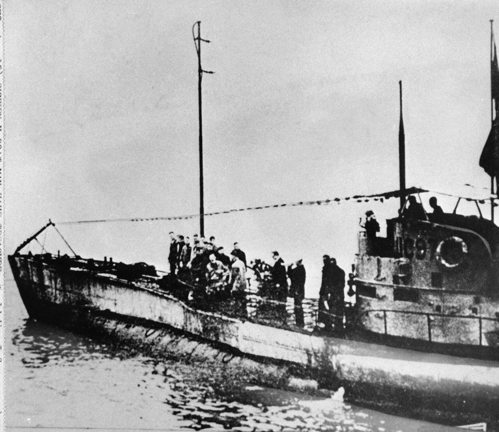 ubåd, fund, vrag, nordsøen, forskere, besætning, første verdenskrig, 1. verdenskrig, krig, verdenskrig, tysk, tyskland