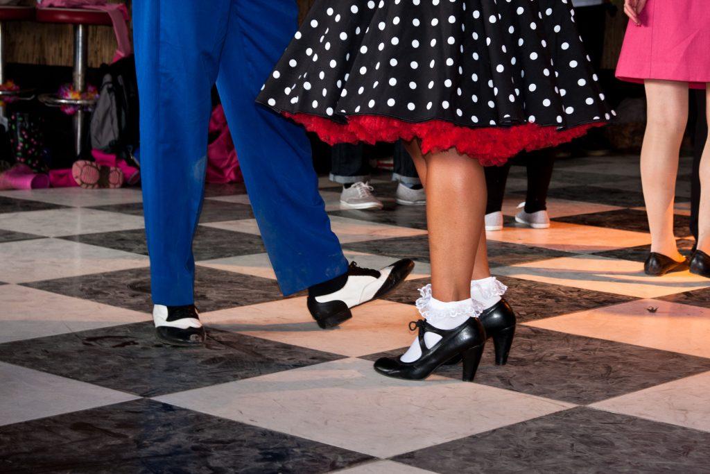 Dansere med inspiration fra 1950'erne. (Foto: All Over)