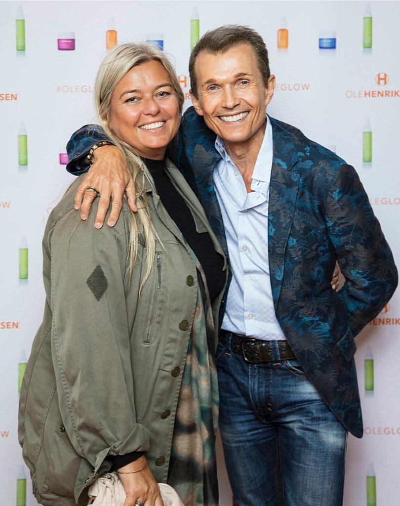 Tina og Ole Henriksen.  (Foto: Stine Christiansen)