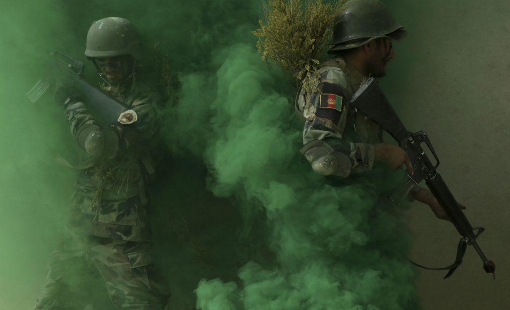 afghanisatn, soldat, militær, øvelse, kabul