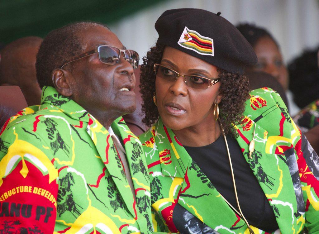 robert mugabe, grace mugabe, kup, militærkup, militær, præsident, vicepræsident, præsidentembede, afrika, korrupt, korruption, husarrest