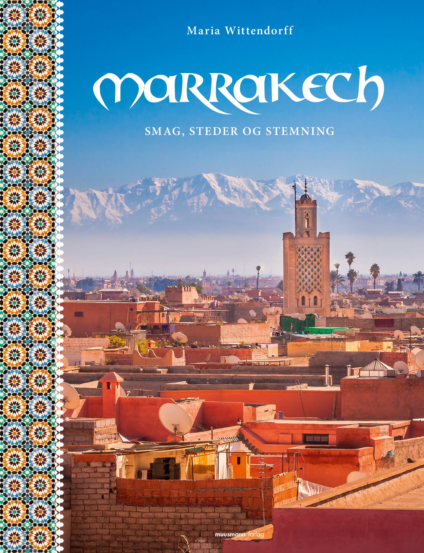 forside marrakech bog, opskrift hjemmelavet taktouka