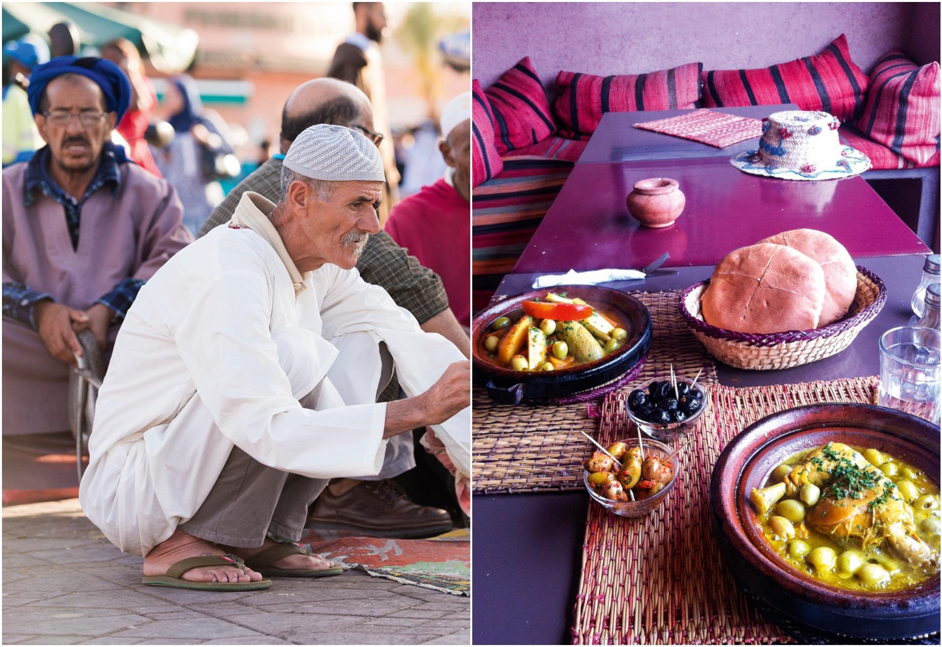 marrakech tajine kylling citron opskrift tajine