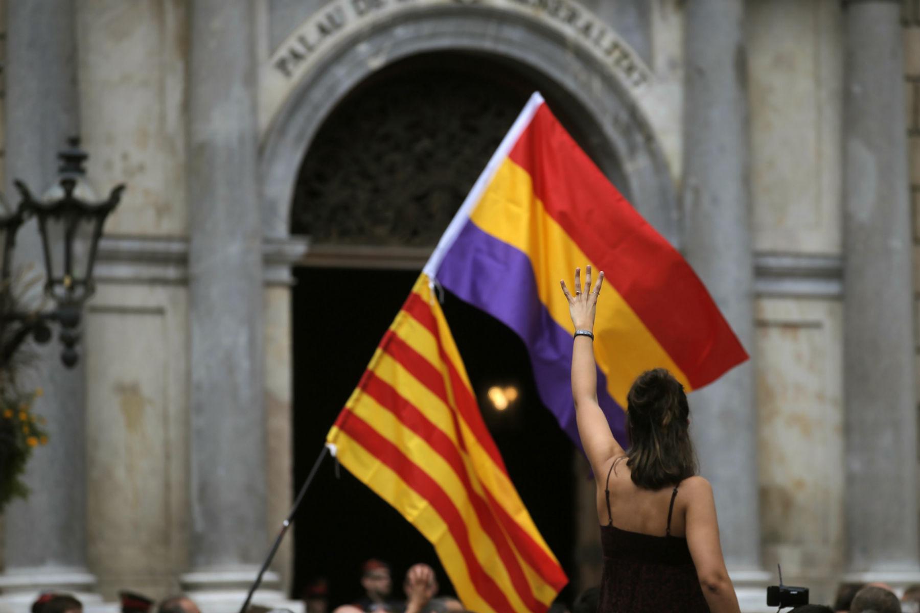 demonstrant, nyheder, news, spanien, dagens billede, demonstration