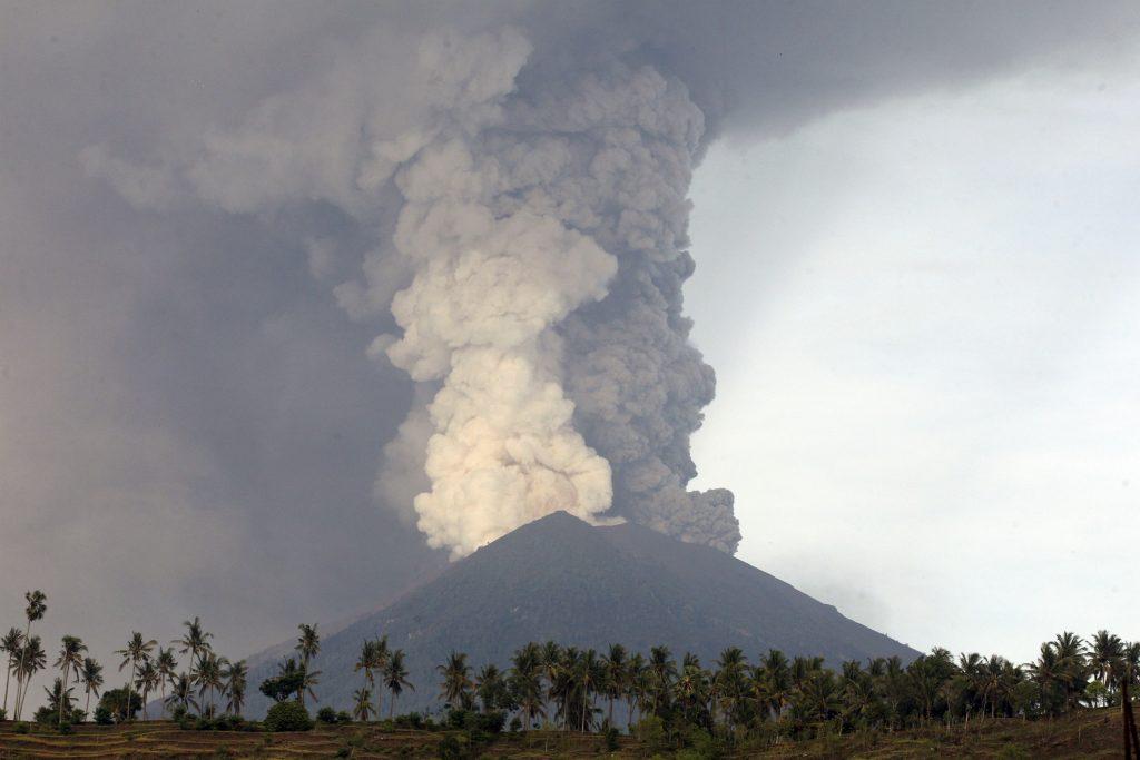 agung, bali, vulkan, udbrud, alarmberedskab, evakuering, indonesien, evakuering