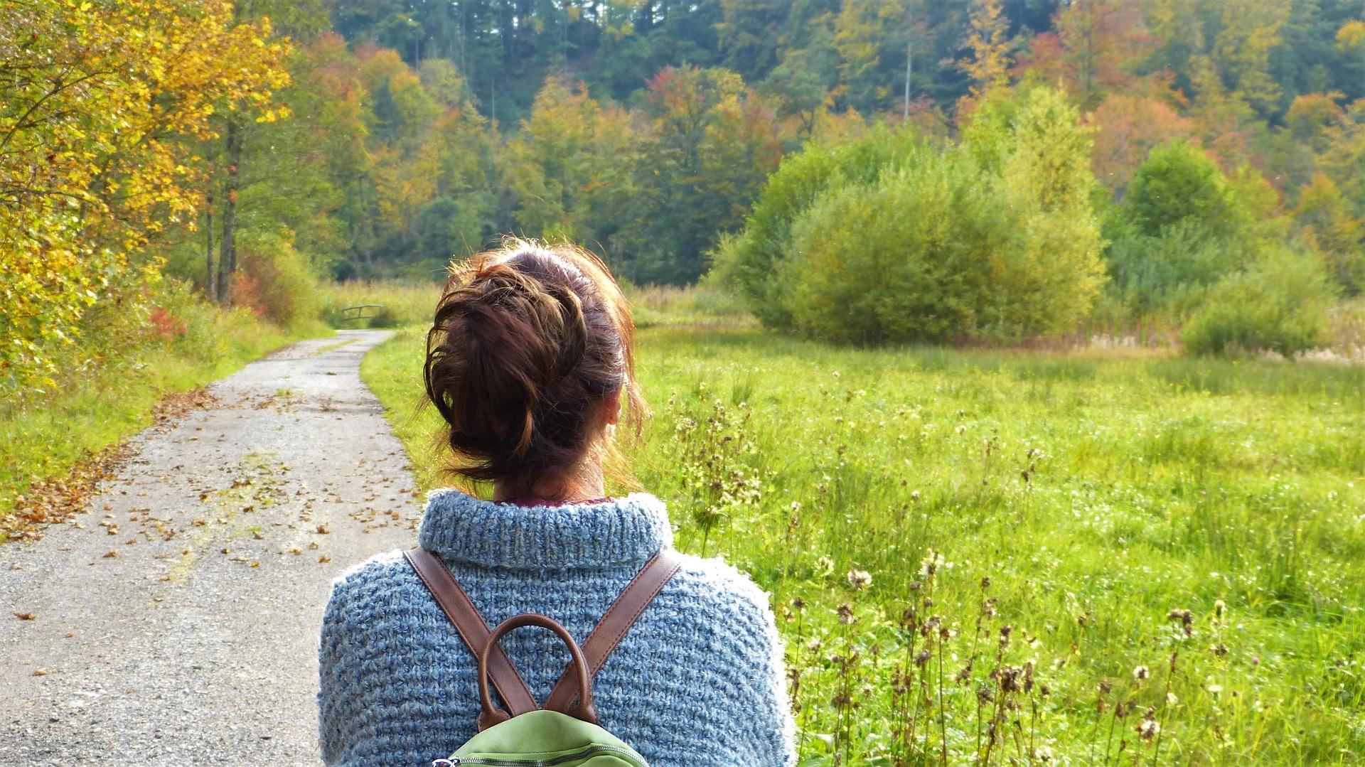 at være alene, luft, frihed, gåtur, alene, livet, valg