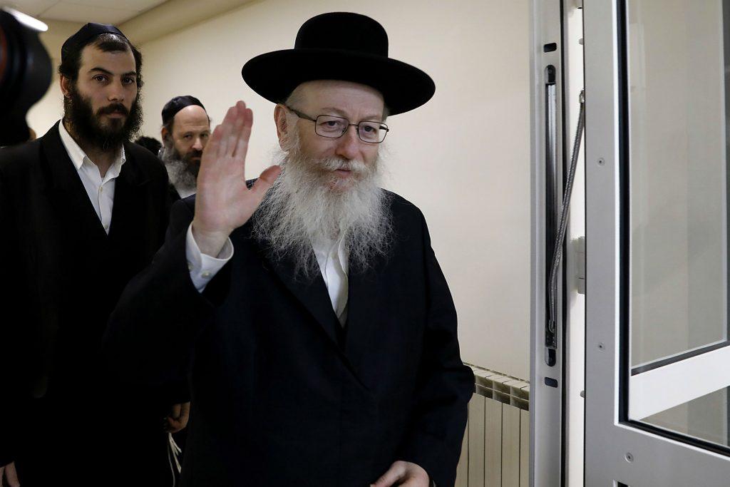 yaakov litzman, jødedom, jøde, israel, netanyahu, sundhedsminister, hviledag, sabbat, religion
