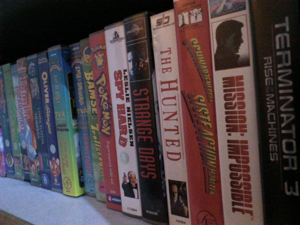 Ah, VHS-bånd. Jer savner vi virkelig ikke. (Foto: Mange J, Visual Hunt / CC BY-NC-SA)