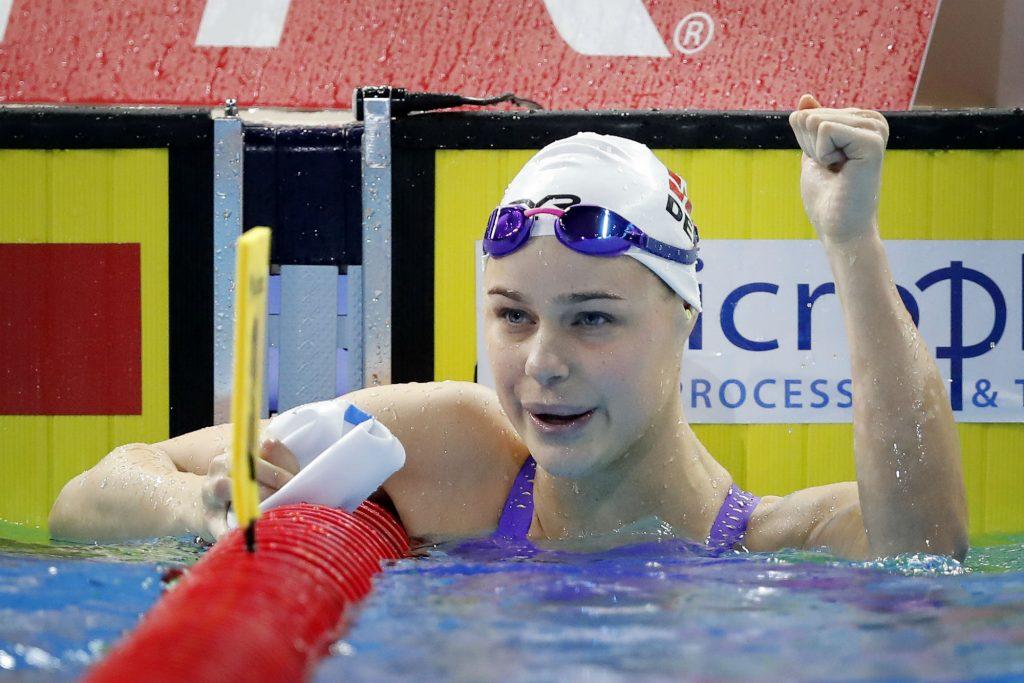 em, pernille blume, kortbanesvømning, svømning, bronze, sport, atlet