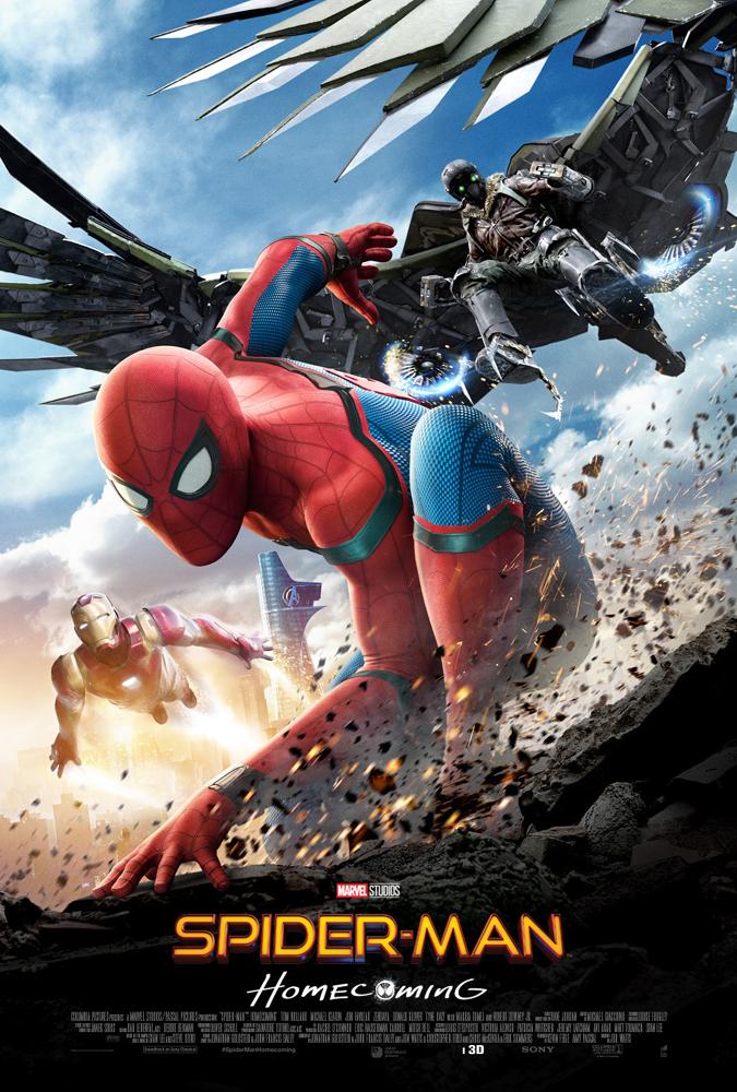 bedste film i 2017, spider-man, homecoming, superhero, movie, film