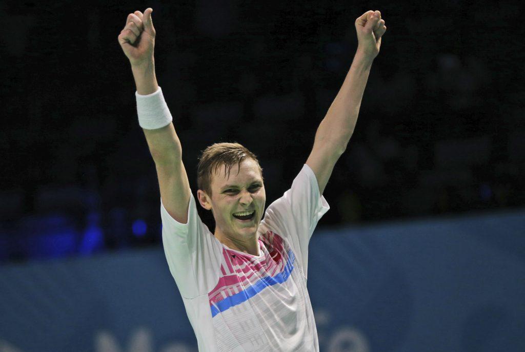 viktor axelsen, badminton, verdens bedste, verdensmester, mester, sport, atlet