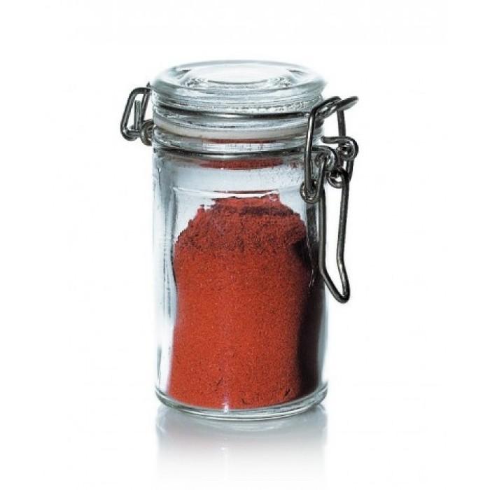 glaskrykke, krydderidåse, opbevaring af krydderier, opbevaring, pænt, indretning, design, krydderier, rod, orden, orden i dine krydderier