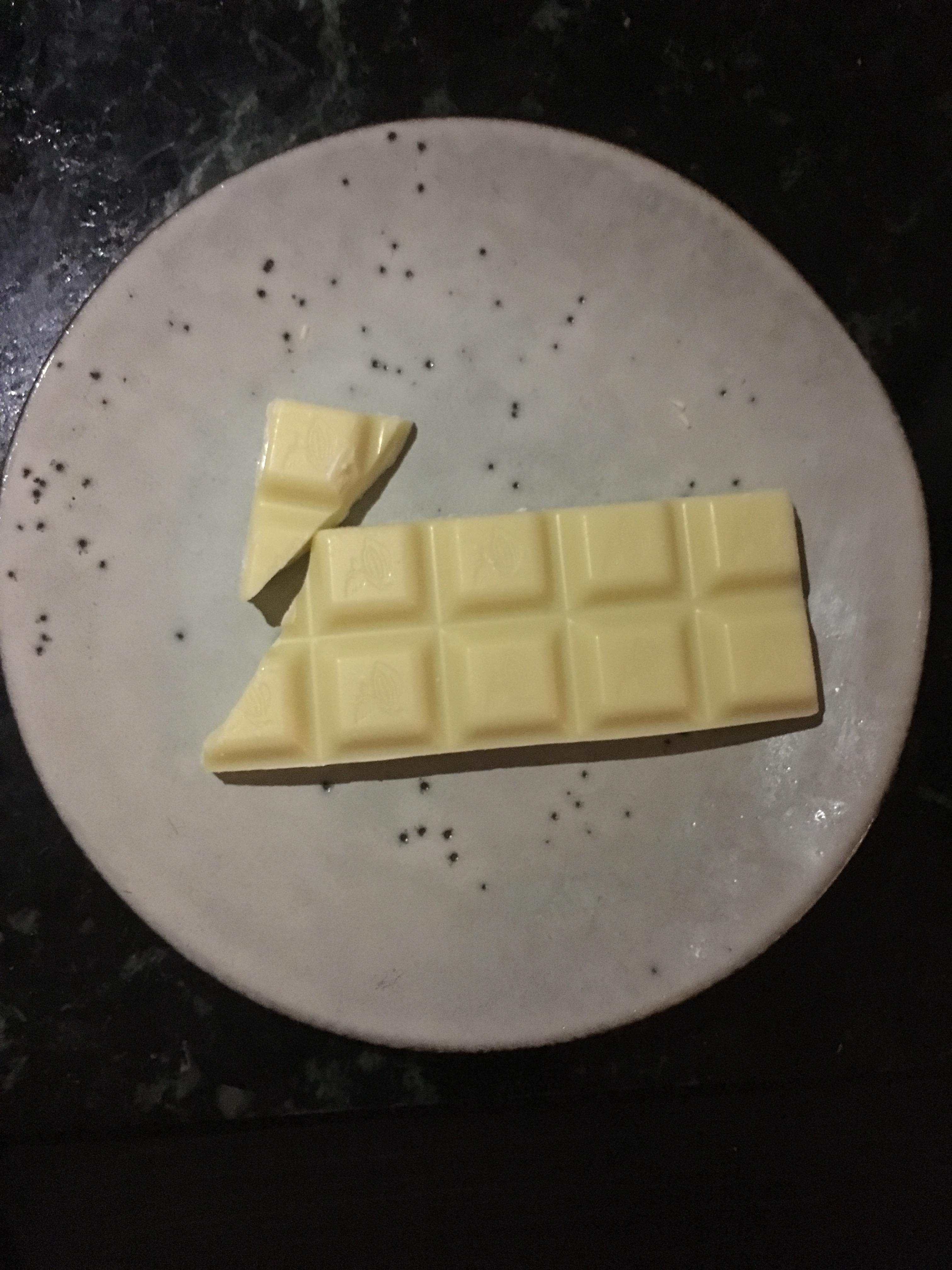 Opskrift på skyr med hvid chokolade