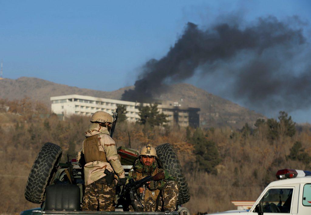 intercontinental hotel, kabul afghanistan, døde, sårede, dødstal, angreb, taleban