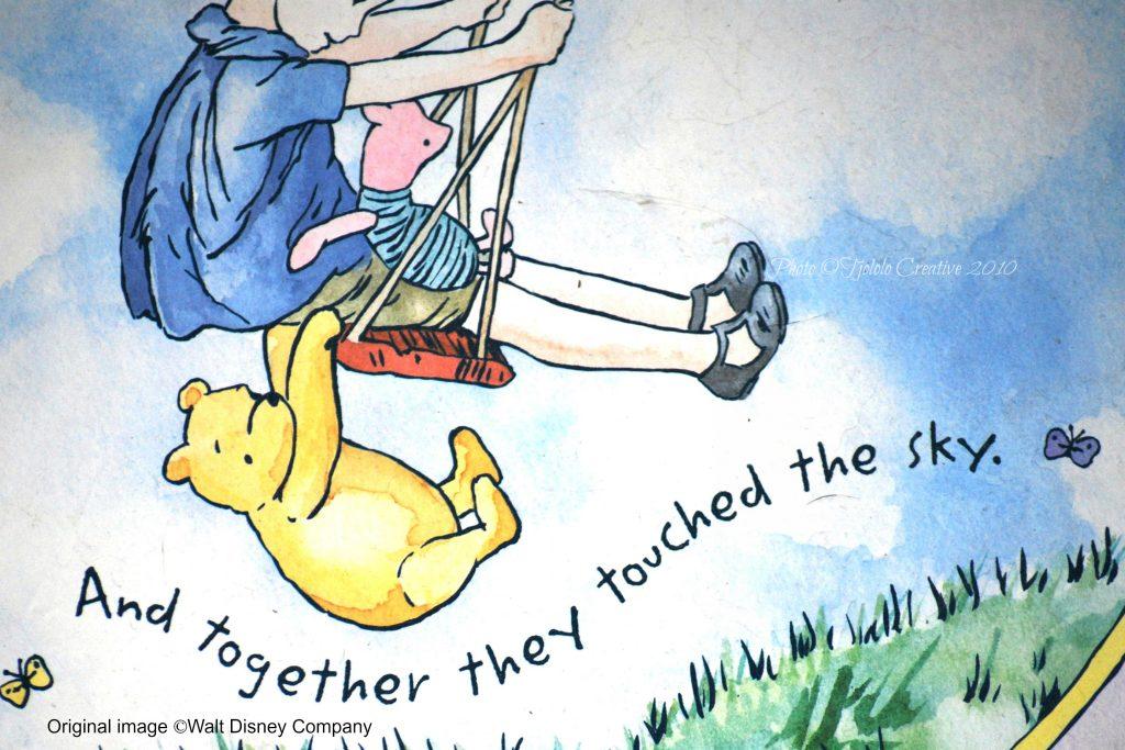 peter plys, peter plys-dag, hundredemeterskoven, a a milne, eventyr, livslektioner, citater, liv, venskab, kærlighed, selvtillid, kærlighed, venskab, eventyr, bog