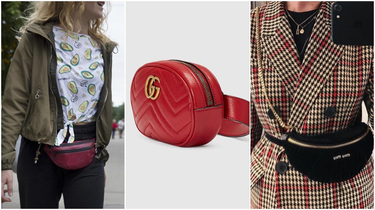 bæltetasker, mavetasker, de største trends i 2018