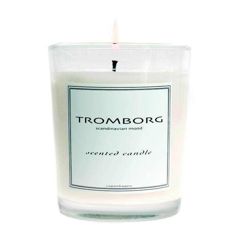 Tromborg, duftlys, scented candle, Menthe, Magasin, lys, stearinlys, Indretningsnyheder 2018
