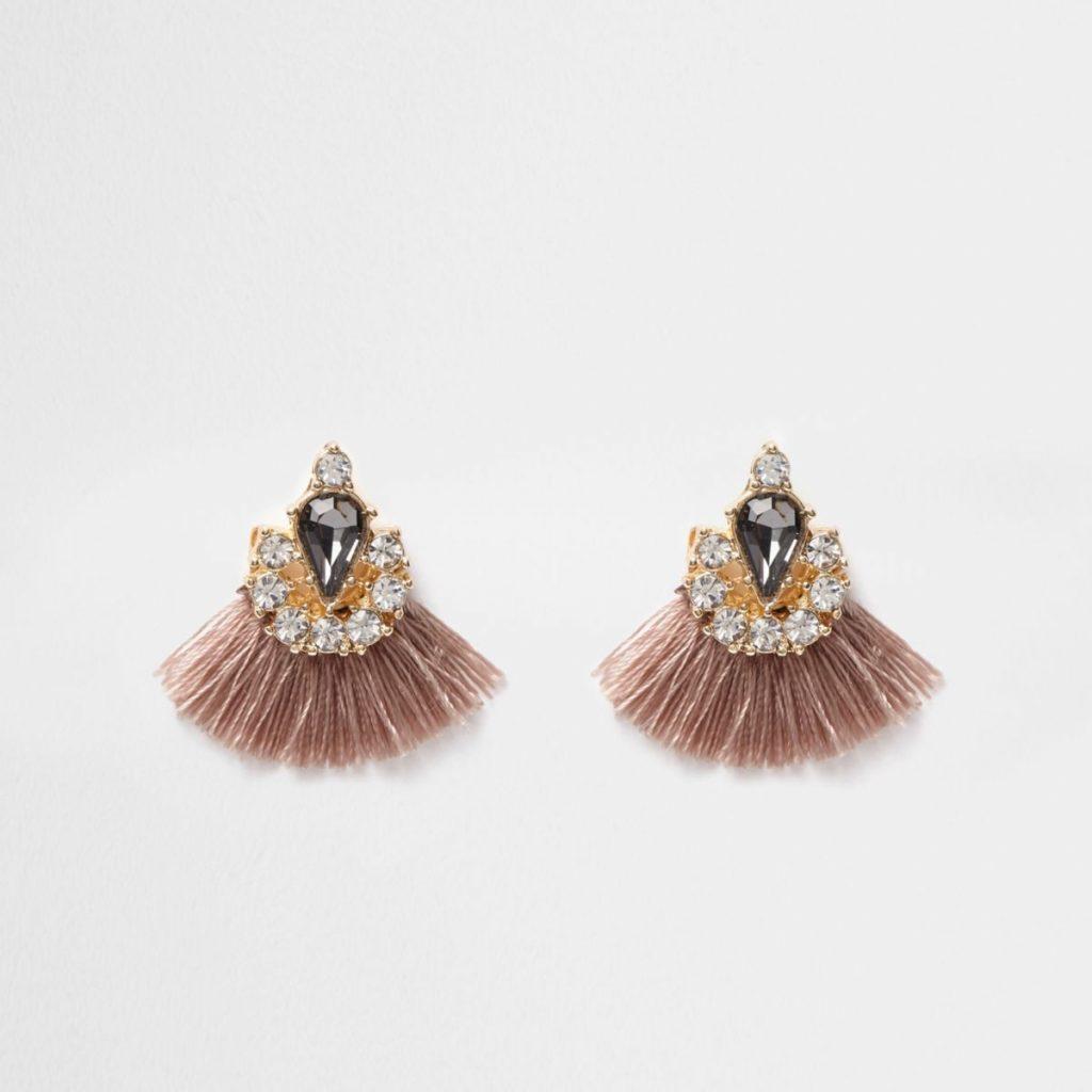 øreringe, frynser, smykker