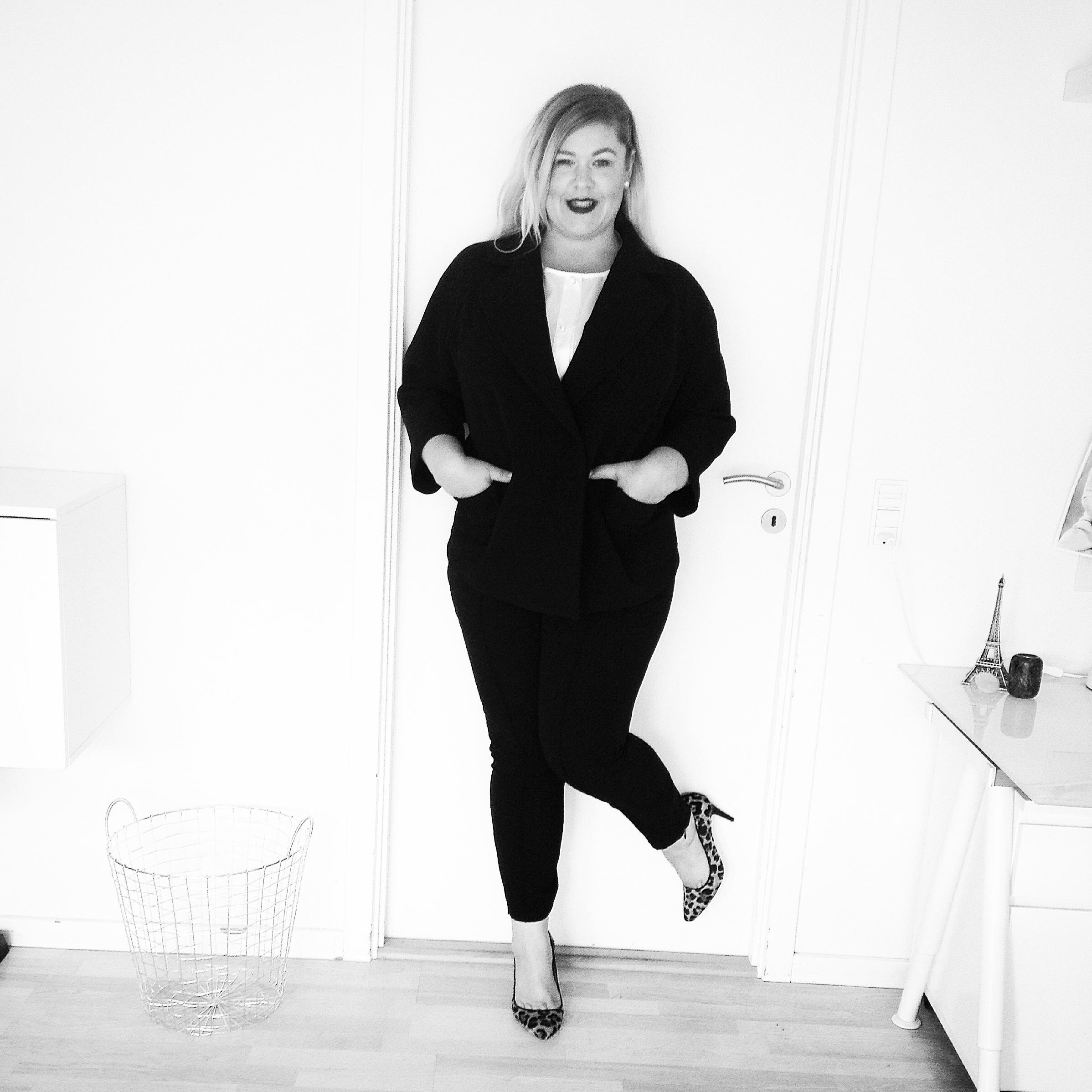 Ditte Vallø er fortaler for kropsaccept. Det budskab spreder hun blandt andet på bloggen Marilyn's Closet. (Foto: Privat)