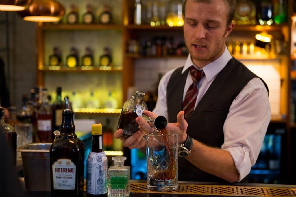 Magnus Hamann er barchef på Bar Downstairs og Clemens Gastro & Bar i Aarhus. (Foto: Privat)