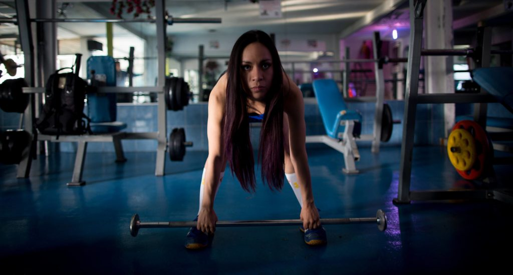 (160307) -- MEXICO CITY, March 7, 2016 -- Photo taken on March 4, 2016 shows Susana Zambrano, the national champion of fitness, training in a gym in Mexico City, capital of Mexico. Lacking support from her family, Susana has spent the last decade in bodybuilding which is still an exclusive for men in the country. I m sad because my mom and grandmom don t understand why I love bodybuilding, but I must respect them . The upcoming International Women s Day will be celebrated under the theme Planet 50-50 by 2030: Step it Up for Gender Equality , with special attention to equal opportunities in education, the ending of all forms of discrimination and the elimination of all forms of violence and harmful practices against women and girls. ) (jp) (ah) MEXICO-MEXICO CITY-WOMEN S DAY-FEATURE PedroxMera PUBLICATIONxNOTxINxCHN