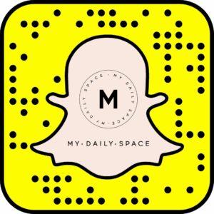 snapchat.com/add/mydailyspace
