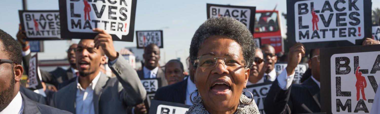 black lives matter, protest, bevægelse, drab politi, usa, amerika, udland, politidrab, anton sterling, justitsministeriet, krimi