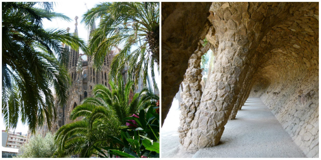 Ingen Barcelona uden Gaudi. Den catalanske arkitekts bygninger kan ses flere steder i byen – det mest kendte er Sagrada Familia, men snyd ikke dig selv for en lille tur udenfor centrum og besøg Park Guell, der også er en af Gaudis perler. (Foto: Privat)