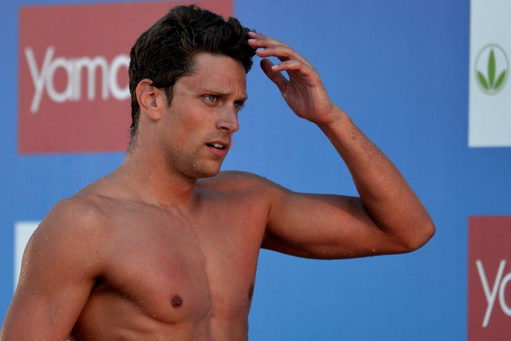 Luca Dotto schwimmt bei der 49. Trofeo Settecolli in Rom - 50m Freistil / 140612 *** Swimming - Trofeo Settecolli in Rome, Italy, June 14th, 2012 ***