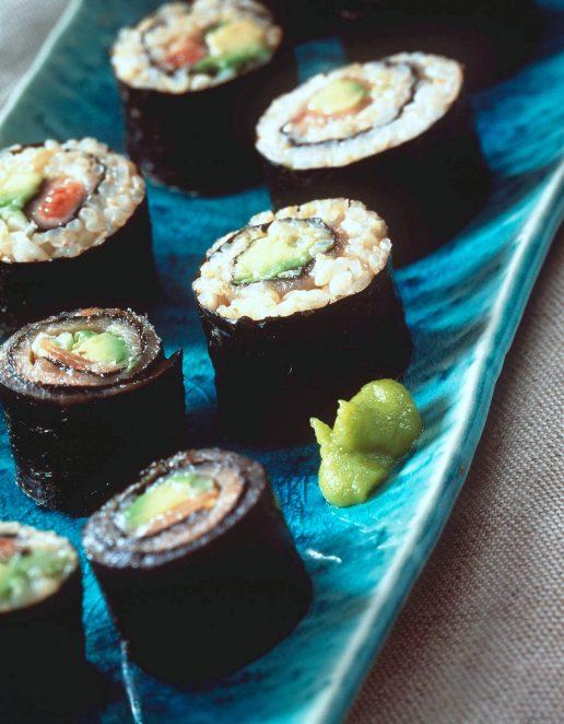 sushi wasabi peberrod