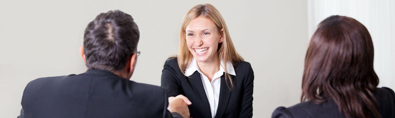 Jobsamtale førstehåndsindtrykket