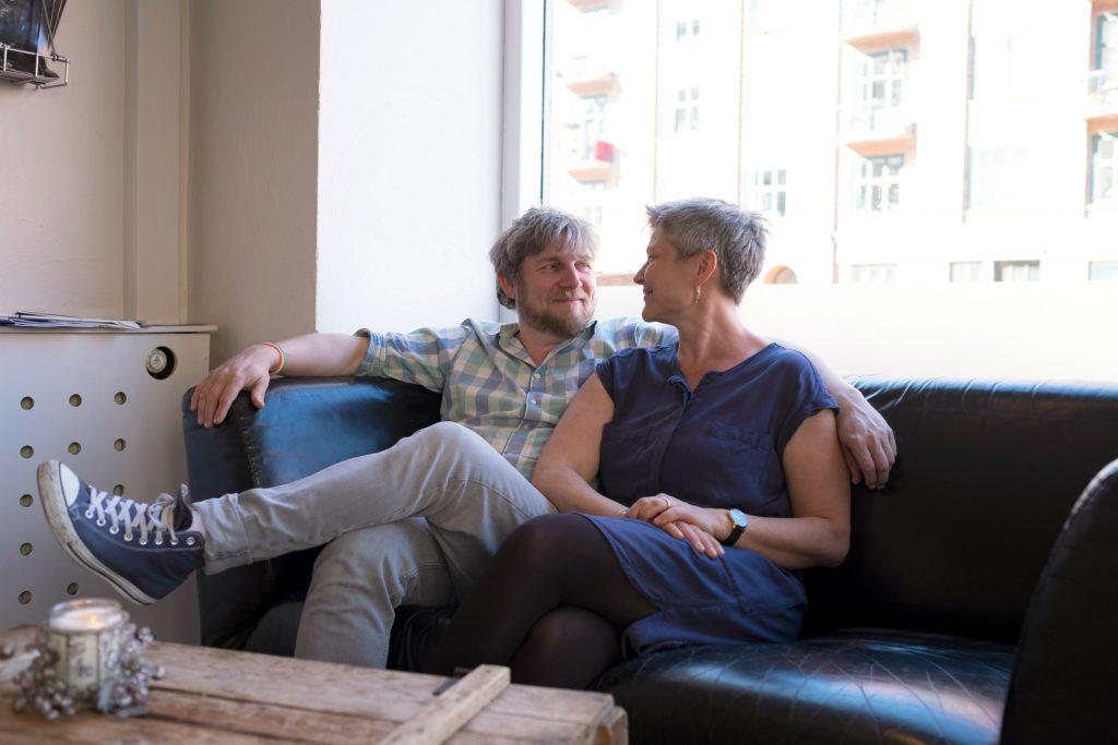 Henning Valin måtte tage stilling til dette spørgsmål, da hans kone Eva fik brystkræft. (Foto: Keen Heick Abildhauge)