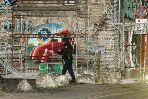 Indsamling til såret betjent Christiania