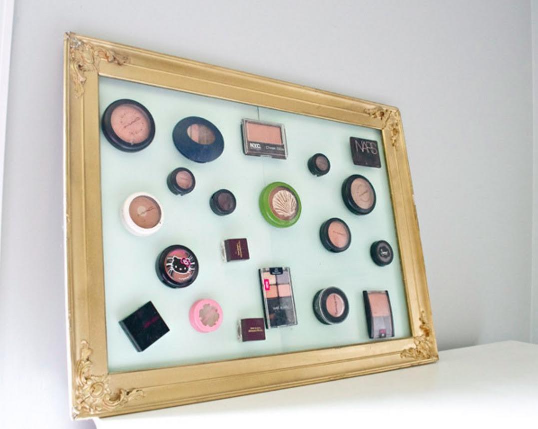 Picture of: Smuk Og Praktisk Opbevaring Til Din Makeup My Daily Space