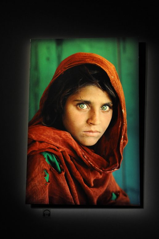 Pigen med de grønne øjne anholdt i Pakistan