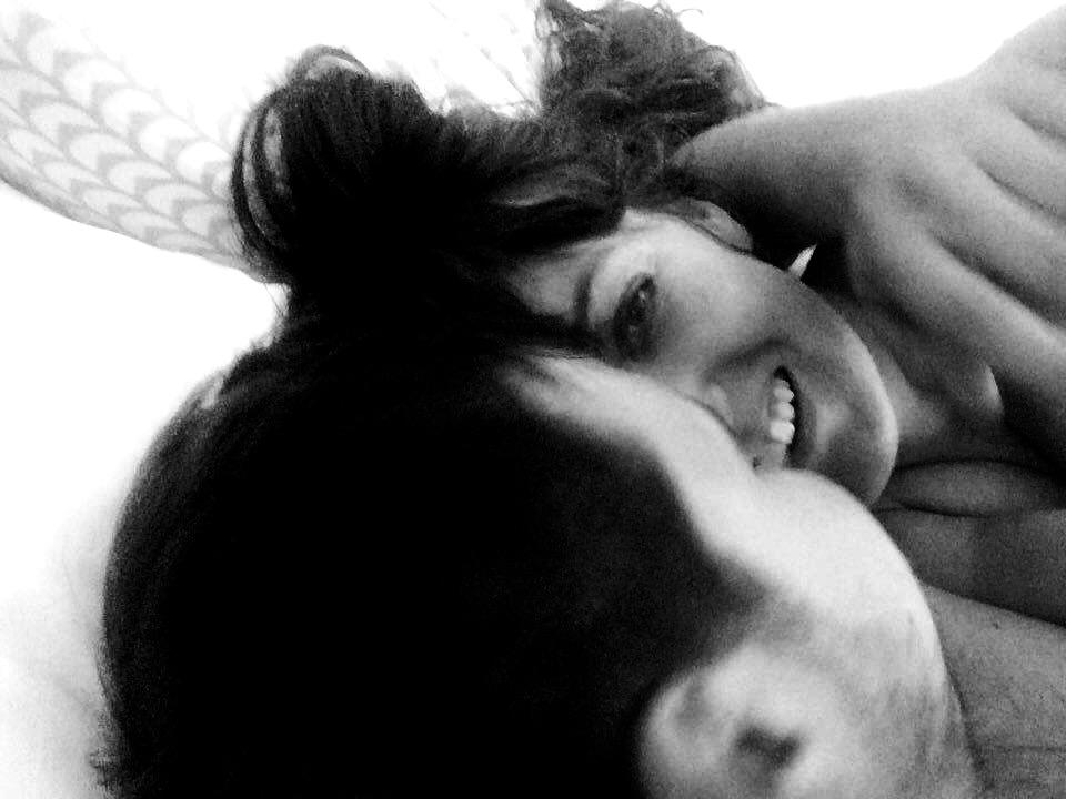 Mette og Josef, dengang kærligheden var helt ny og upåvirket af sygdom. (Foto: Privat)