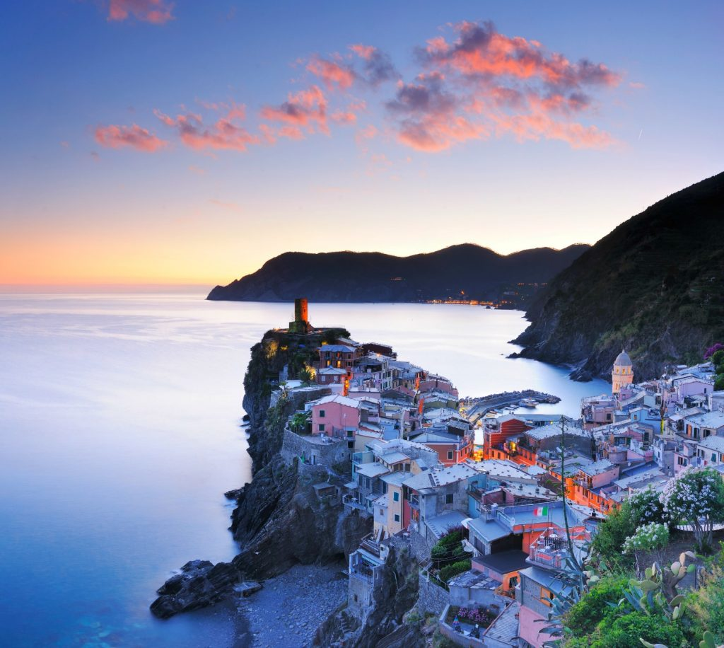 Cinque terre italien rejseprofiler instagram, drømmerejse