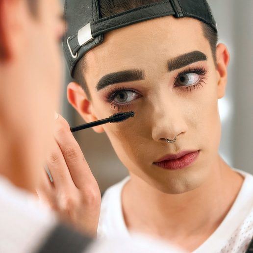 Katy Perry and James Charles pose for CoverGirl